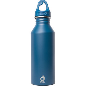 MIZU M5 Bottle with Blue Loop Cap 500ml blue